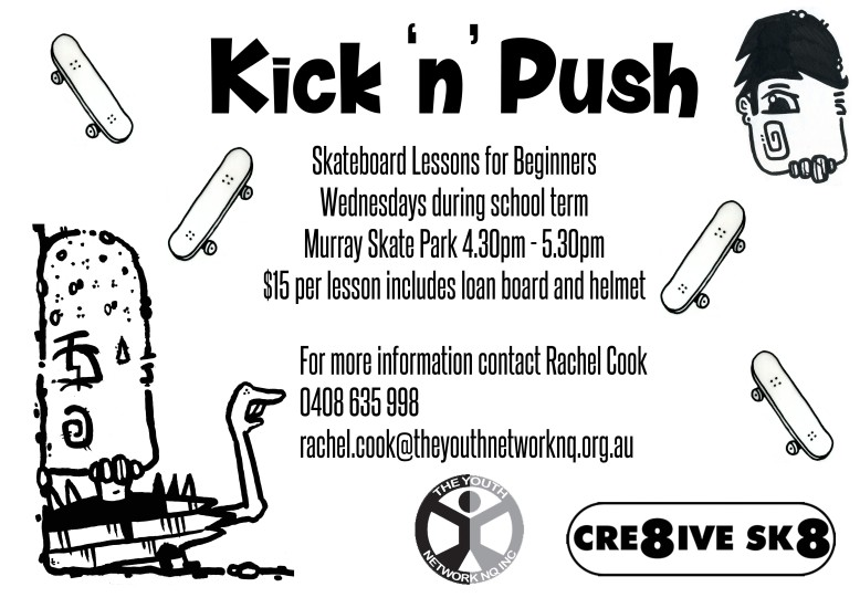 kick n push flyer